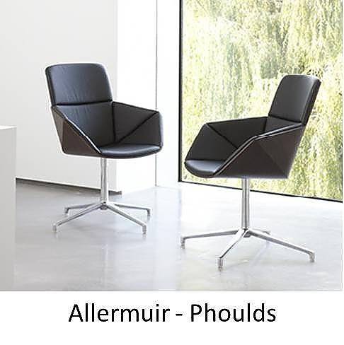 Allermuir Phoulds, Allermuir, Phoulds, The Senator Group, Senator Phoulds, Stoel met geometrische vormen