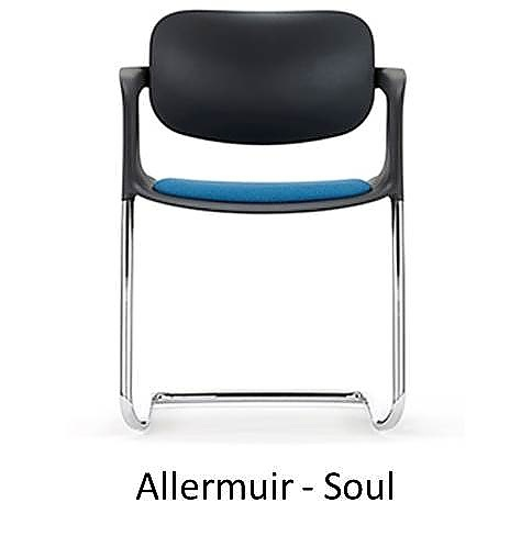 Allermuir Soul, Allermuir, Soul, The Senator Group Soul, Soul Senator, stoel sledeframe, sledeframe stapelbaar