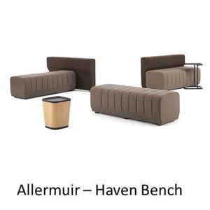 Allermuir Haven Bench, Allermuir, Haven Bench, haven, haven allermuir, senator group, senator, allermuir loungeprogramma, koppelbaar loungeprogramma