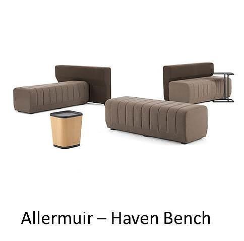 Allermuir Haven Bench, Allermuir, Haven Bench, haven, haven allermuir, senator group, senator, allermuir loungeprogramma, koppelbaar loungeprogramma