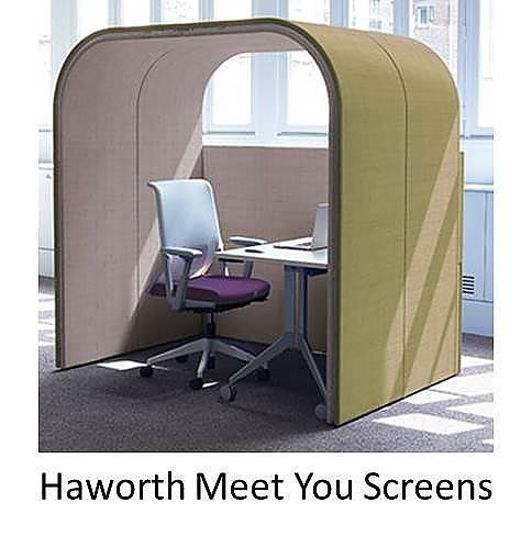 haworth meetyou screens, haworth meetyou, scheidingswanden haworth