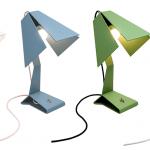 DriVK Lumi, vouwlampje, speels stalen lampje, lampje met industriele look 2