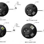 DriVK Snake, gestoffeerde kabelslurf, kabelslurf, kabelslurf met stopcontact 2