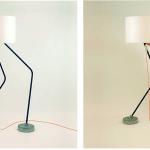 DriVK Tony, hoge staande lamp, lamp met 2 voeten 4