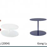 Cappellini gong cappellini gong lux Table cappellini cappellini nederland em kantoorinrichting 1